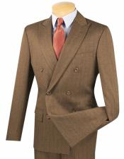 Breasted Slim Fit Taupe