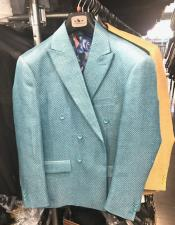 Double Breasted Suits Jacket