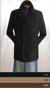 Mens Wool Peacoat Sale