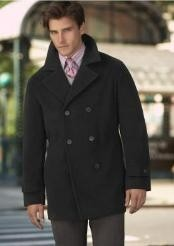 Wool fabric Pea Coat