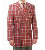 Piece Red/Green/Tan Plaid Double