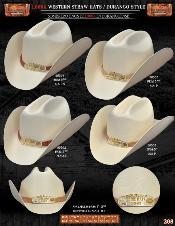 ID#JBX1776 1,000x Durango western  Straw Hats