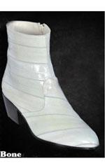 Eel Dressy Boots W/Zipper