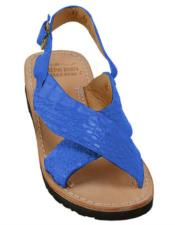 Exotic Skin Sandals in