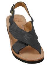 Skin Matte-Black Sandals in