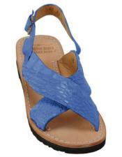 Skin Navy Sandals in