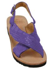 Skin Purple Sandals in