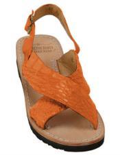 Skin Tangerine Sandals in