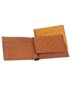 Genuine Smooth Ostrich Wallet