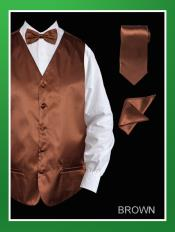 Piece Groomsmen Wedding Vest