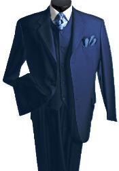 Piece Suits navy blue