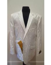 ~ Flower Sportcoat White
