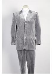 4 Button Seersucker Suit