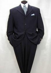 ID# NSS743 navy blue colored Superior fabric 150's Wool fabric Four buttons Wool fabric Italian Design