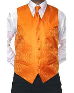 Orange Microfiber Wedding -