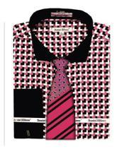 Cuff Pink Corner Pattern