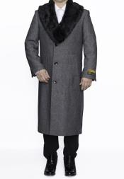 Fur Collar Full Length