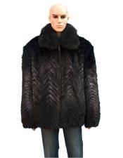 Peacoat Sale With Mink