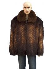 Fox Collar Genuine Mink