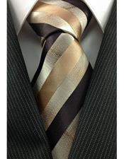 Stripe Pattern Necktie With