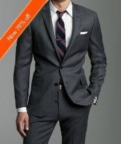 Slim Fitted Charcoal Masculine