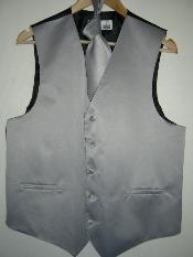 GRAY Groomsmen Wedding Vest