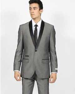 Shawl Collar Slim Fit