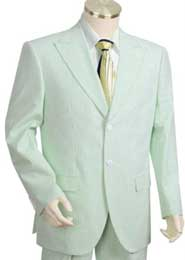 Cotton Summer Seersucker suit
