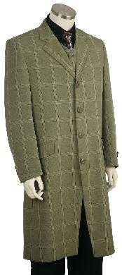 ID#NG8160 Fashion Zoot Suit Green