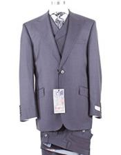 Grey Peak Lapel Wide
