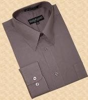 Solid Plain Charcoal Masculine