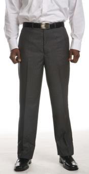 Flat-Front Dress Pants -