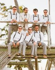 Groom and Groomsmen Wedding Attire For Man (Call Over the phone to place the order for this look)