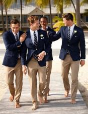 ID#DB17883 Groom and Groomsmen Wedding Attire For Man (Call Over the phone to place the order for this look)