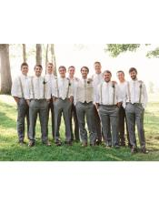 Closure Casual Groomsmen Attire