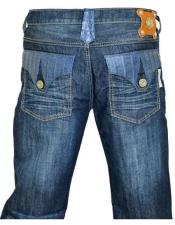 Hornback Alligator Jeans Flap