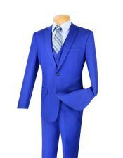 Piece Bright Blue Indigo