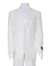 ID#TTX778 Charming Ivory Two Button Tuxedo