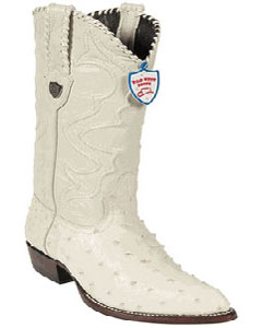 ID#HN7845 Wild West Cream ~ Ivory ~ Off White Full Quill Ostrich Western Dress Cowboy Boot Cheap Priced For Sale Online