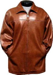Mens Brown Rain Coat