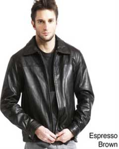 ID#AC-210 Genuine Lambskin Leather skin Jacket Dark color black,Coco Chocolate brown Available in Big and Tall