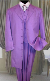 Lavender 3PC ZOOT SUIT