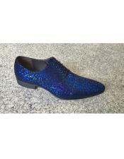 Leather Footwear Foil Pattern