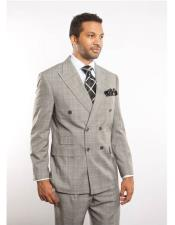 Grey Striped Pattern Mens