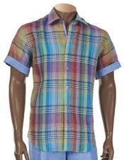 Up Linen Short Sleeve