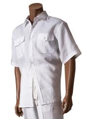 Closure Linen White Short