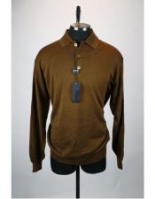 Sleeve 3 Button Brown