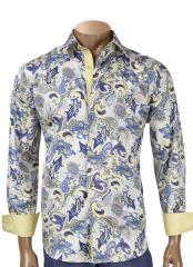 Paisley Long Sleeve Cotton