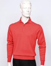 Sleeve Red Silk/Cotton Fine