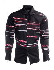 Long Sleeve Striped Pattern
